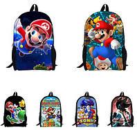 Портфель сумка рюкзак школьный детский Марио Качес