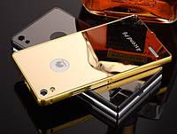 Чехол бампер для Huawei Ascend P6 зеркальный