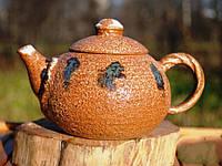 Исинский Чайник с обливной глазурью #118 (300мл)