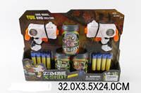 Набор оружия 2 пистолета, паралоновые пули, бочки-мишени, в коробке