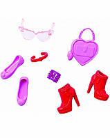 Набор аксессуаров и обуви для Барби