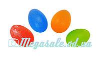 Мяч силиконовый полужесткий для тренировки кисти: 2 цвета, 6см
