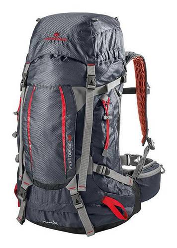 Классный туристический рюкзак Ferrino Finisterre 48L Black 922885 серый графит