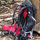 Классный туристический рюкзак Ferrino Finisterre 48L Black 922885 серый графит, фото 7