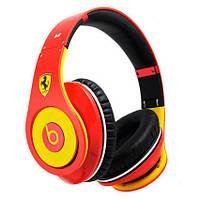 Проводные наушники Monster Beats by Dr.Dre Studio Ferrari, (Копия, цвета в ассортименте)