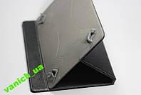 """Кожаный универсальный чехол для планшетов 10"""""""