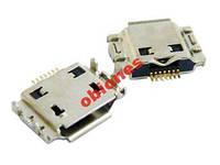 Коннектор разъем зарядки SAMSUNG I8910 / I9000 / I9001 / I9003/ S5260, S5350 Shark, S5660, S7220 h/c
