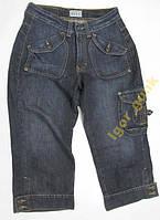 Бриджи джинсовые женские FITT, размер 36
