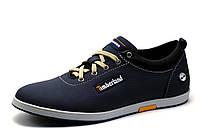 Туфли Timberland, мужские, спортивные, натуральная кожа, синие, р. 41 42 44 45