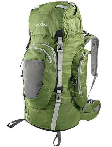 Мегафункциональный трекинговый рюкзак для туризма Ferrino Chilkoot 75L Green 922887 зеленый