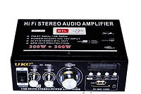 Усилитель UKC 699Dс FM+ MP3 12/220вольт 2-300Вт