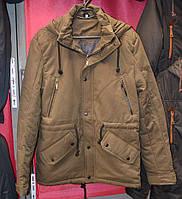 Осенняя мужская куртка - парка (коттон) - 134-10
