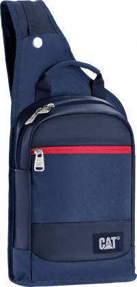 Рюкзак с одной шлейкой с отделением для планшета 5 л. CAT The Giants 83196;170 Синий