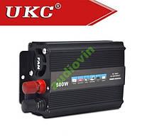 Преобразователь авто (инвертор) 12V-220V 500W UKC