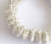 Бусины фигурные разделители серебро п.970