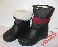 Непромокаемые женские сапоги,теплющие размер 37/38
