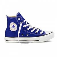 Кеды Конверс Converse ALL STAR Высокие синие Конверсы В наличии