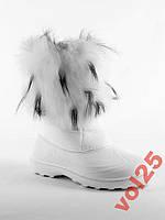 Водонепроницаемые зимнии сноубутсы-унты размер 38