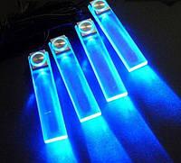 Синня диодная подсветка в авто