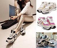 Стильные, модные кроссовки CHANEL