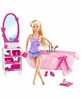 Кукла Штеффи в ванной Steffi Simba