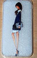 Чехол для iphone 4 прозрачный силикон
