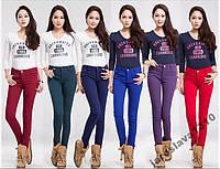 Утепленные брюки джинсы зима # 18
