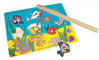 Пазлы, магнитный аквариум Валли Деревянные развивающие игрушки