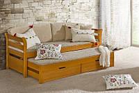 Детская выдвижная кровать ниша Тедди