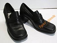 Туфли кожаные JANET D, 36 (23 см)