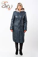 """Пальто женское больших размеров """"Капине 2 flock"""""""