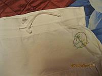 Юбка короткая легкая белая хлопок  46 12 М ACTIVE