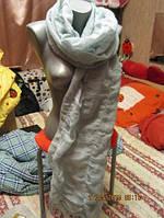Легкий шарф шаль  нежный палантин большой стильный