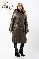 """Пальто женское больших размеров """"Winter Mouton"""""""