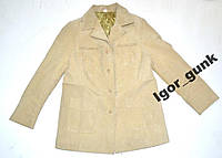 Куртка кожаная женская, 48, как новая!