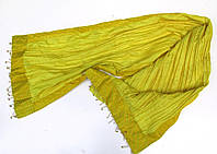 Шарф для танца с колокольчиками, желтый, отл. сост