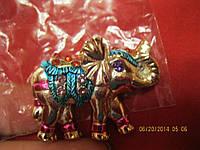 Магнит  слон камни красивый сувенир слоник