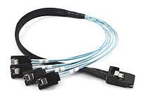 Mini SAS SFF-8087 на 4 sata кабель