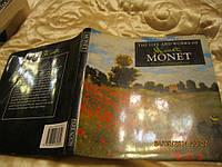 На английском языке книга альбом картин MONET