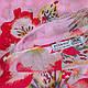 Замечательный женский шарф из хлопка 182 на 90 см  ETERNO (ЭТЕРНО) ES0908-9-3 розовый, фото 2