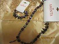Набор браслет+колье ожерелье бусы колье новое шик!