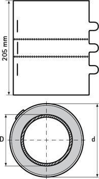 BIS Pacifyre MKll 54-56мм