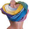 Красивый женский шарф из хлопка 184 на 86 см  ETERNO (ЭТЕРНО) ES0908-5-2 разноцветный