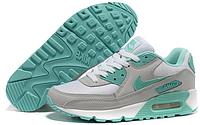 Женские кроссовки Nike Air Max 90 (найк аир макс 90) серые
