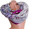Нежный женский шарф из хлопка 185 на 87 см  ETERNO (ЭТЕРНО) ES0908-1-3 разноцветный