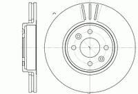 Диск тормозной передний Рено меган 2,сценик 2  2002г  -->6583.10 ROADHOUSE ХАРЬКОВ