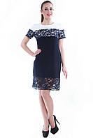 Платье синее SO-13049-BLU (38-44), фото 1