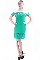 Платье мята SO-13049-TRQ, фото 1