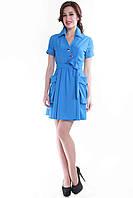 Платье голубое SO-13055-CYP (38-44), фото 1
