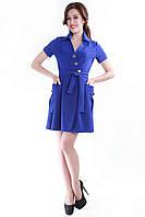 Платье электрик SO-13055-ELB  (38-44), фото 1